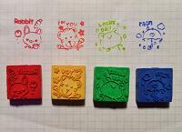 Отдается в дар Печатки-штампы детские
