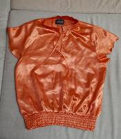 Отдается в дар Оранжевая блузка
