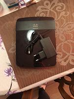 Отдается в дар Wi-fi роутер cisco linksys e1200