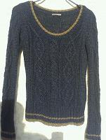 Отдается в дар Пуловер цвета джинс