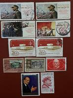 Отдается в дар Лениниана на почтовых марках