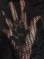 Отдается в дар Блузка кружевная черная