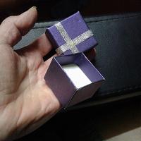 Отдается в дар Коробочка для подарка