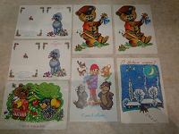 Отдается в дар открытки старые в коллекцию