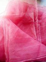 Отдается в дар Платок газовый персикового цвета, 1м*1м.