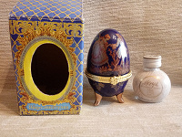 Отдается в дар Яйцо-шкатулка, ликер Моцарт