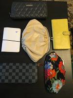 Отдается в дар Женские кошельки и обложка для паспорта