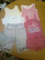 Отдается в дар Летняя одежда девочке