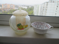 Отдается в дар чайник заварочный + чашечка