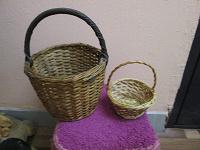 Отдается в дар корзинки плетеные