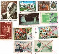 Отдается в дар Латиноамериканские марки