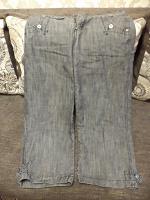 Отдается в дар джинсовые бриджи