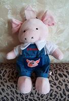 Отдается в дар Свинка — рюкзачок от Комус