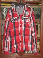 Отдается в дар Рубашка мужская, размер М. ОВ сегодня
