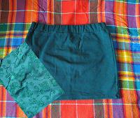 Отдается в дар зеленая мини-юбка