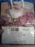 Отдается в дар Пакеты бумажные цветочная тема 2 шт