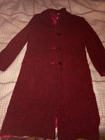 Отдается в дар Пальто женское демисезонное шерстяное р.46