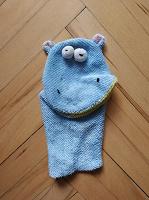 Отдается в дар Детская мочалка-рукавичка