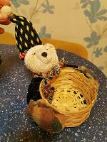 Отдается в дар Мишка с лукошком