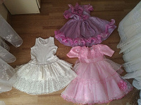 Отдается в дар Нарядные платья и брючки на 4-6 лет