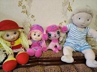 Мягкие куклы и другие друзья игрушки