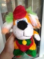 Отдается в дар Собачка-клоун