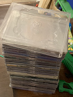 Отдается в дар коробки (боксы) для DVD дисков