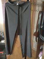 Отдается в дар Черные брюки офисные