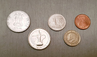 Отдается в дар Монеты разных стран