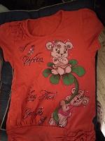 Отдается в дар футболка для девочки