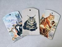 Отдается в дар Разделочные доски с котами