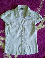 Отдается в дар Блуза в полоску