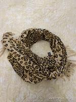 Отдается в дар Шарф-палантин леопардовый