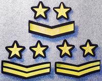 Отдается в дар Нарукавные нашивки на военную форму СССР