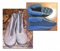 Отдается в дар Полусапожки и ботинки