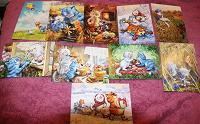 Отдается в дар Набор открыток «Синие коты»