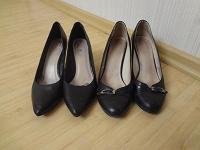 Отдается в дар пара туфель 38 р-ра на каблуке 7,5 см
