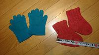 Отдается в дар Носочки и перчатки малышу
