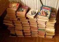 Отдается в дар Книги покетбуки много