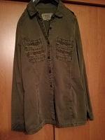 Отдается в дар Рубашка женская новая Trafaluc 44