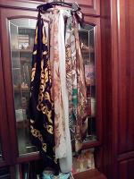 Отдается в дар платки-шарфы