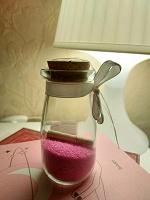 Отдается в дар Бутылка с предсказанем
