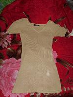 Отдается в дар летнее платье-туника синтетический трикотаж