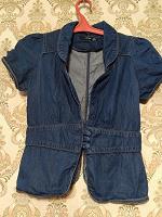 Отдается в дар Жилетка джинсовая 42 размер