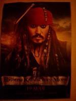 Отдается в дар Флайер «Пираты Карибского моря»