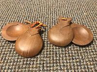 Отдается в дар Кастаньеты деревянные из Испании