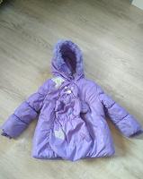 Отдается в дар Куртка зимняя, детская на 3-4 года.