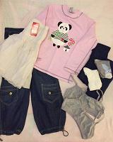 Отдается в дар Одежда для девочки, новое и б/у, на 7-8 лет.