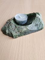 Отдается в дар Подсвечник из камня
