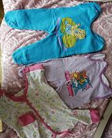 Отдается в дар Одежда на пухлого малыша 0-4мес